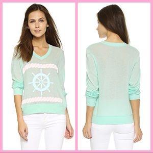 "WILDFOX | ""Bubblegum Sailor"" Beach Sweater"